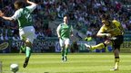 Ki Sung-Yeung scores for Celtic against Hibernian