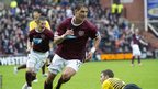 Hearts midfielder Rudi Skacel