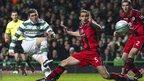 Gary Hooper scrores for Celtic against St Mirren