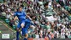 Georgios Samaras scores for Celtic against St Johnstone