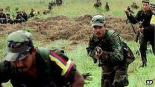 Farc rebels (file image)