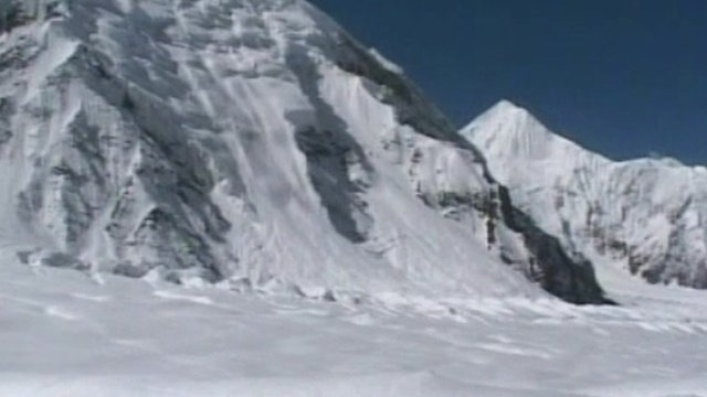 Avalanche in Kashmir