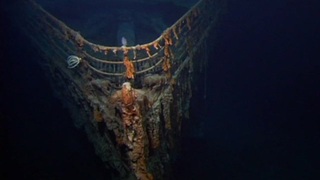 Bow of the Titanic