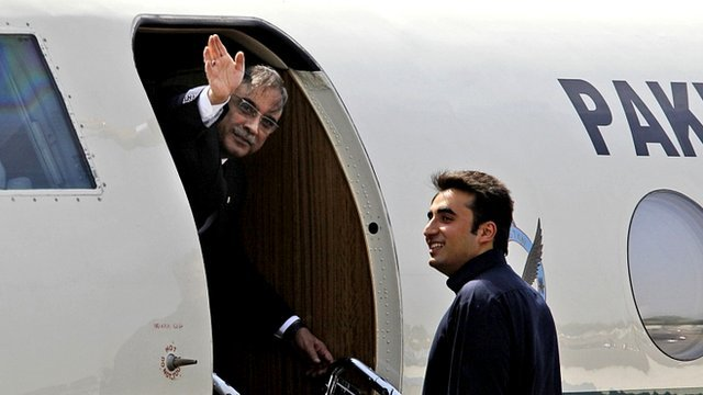 Pakistan President Asif Ali Zardari