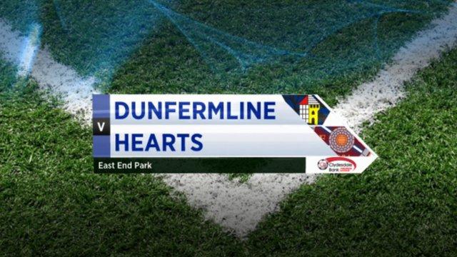 Highlights - Dunfermline 1-2 Hearts