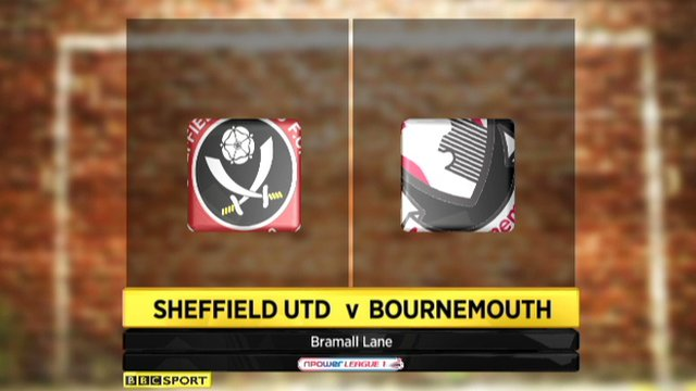 Sheffield United 2-1 Bournemouth