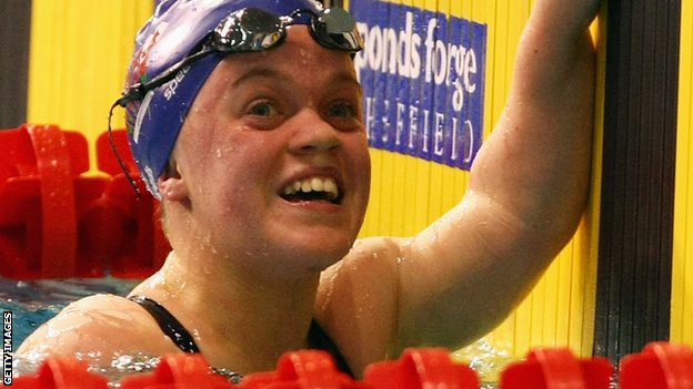 British swimmer Ellie Simmonds