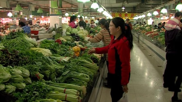 Vegetable prices have been volatile in China
