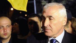 Leonid Tibilov (8 Apr 2012)