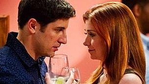 Jason Biggs and Alyson Hannigan in American Reunion