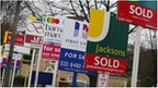 For sale signs, London
