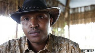 Bosco Ntaganda photographed in Goma in October 2010