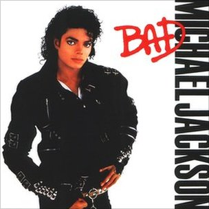 Cover art for Michael Jackson's Bad (Sony)