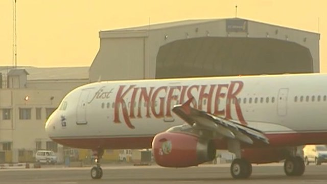 Kingfisher Airlines plane