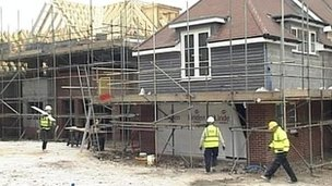 New homes being built - generic image