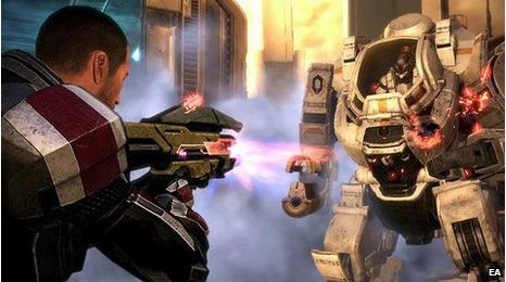 Screenshot from Mass Effect 3