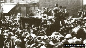 Wallace Hartley's funeral