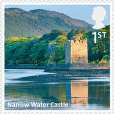 Narrow Water Castle stamp