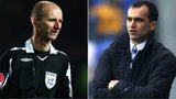 Mike Riley and Roberto Martinez