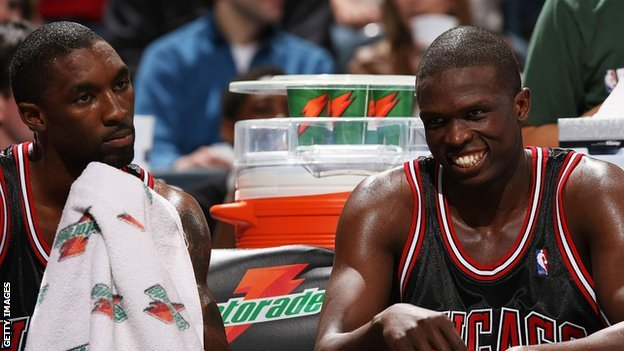 Ben Gordon and Luol Deng