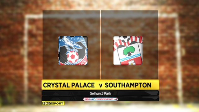 Highlights  - Crystal Palace 0-2 Southampton