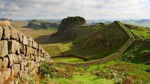 Hadrian's Wall - Housesteads