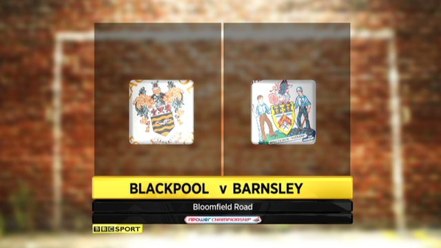 Highlights - Blackpool 1-1 Barnsley