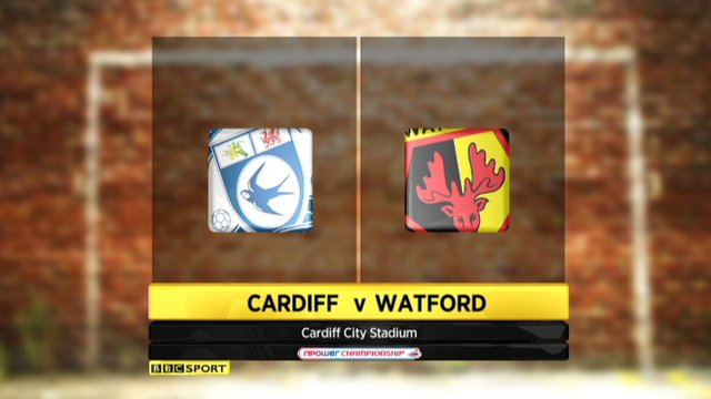 Highlights - Cardiff 1-1 Watford