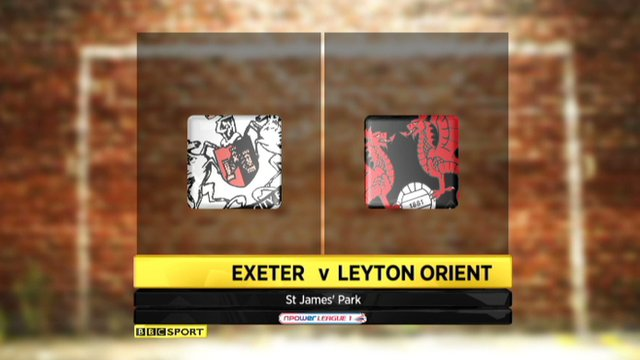 Highlights - Exeter 3-0 Leyton Orient