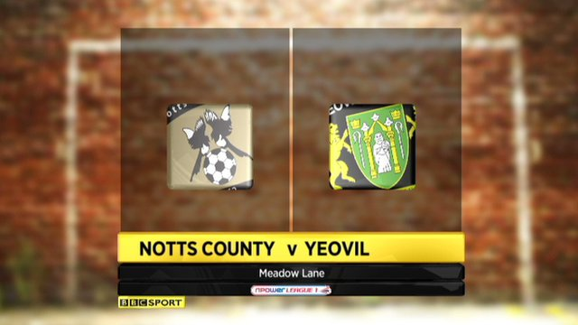 Highlights - Notts County 3-1 Yeovil