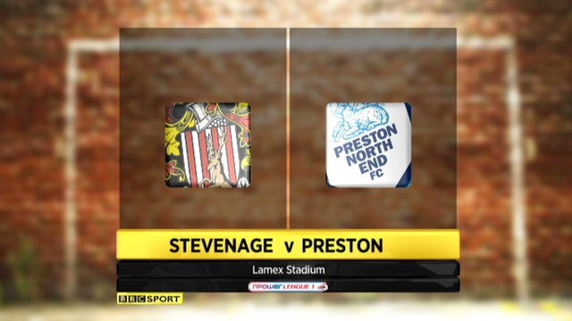 Highlights - Stevenage 1-1 Preston