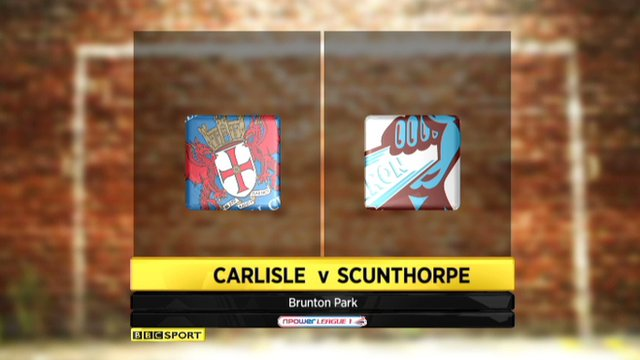 Highlights - Carlisle 0-0 Scunthorpe