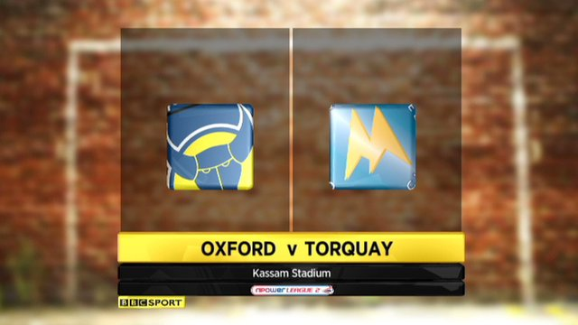 Highlights - Oxford 2-2 Torquay