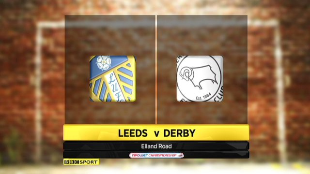 Highlights - Leeds 0-2 Derby