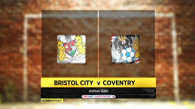 Highlights - Bristol City 3-1 Coventry