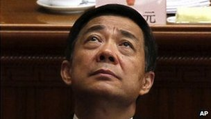 File photo: Bo Xilai