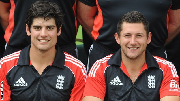 Alastair Cook and Tim Bresnan
