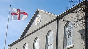 Guernsey's Royal Court building