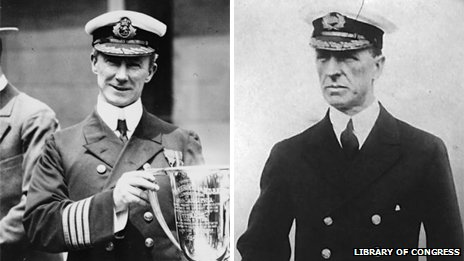 Captains Arthur Rostron and Stanley Lord