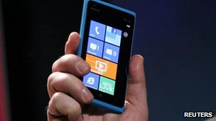 Nokia Lumia 900 smartphone