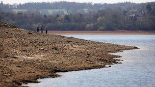 Bewl Water reservoir near Lamberhurst in Kent