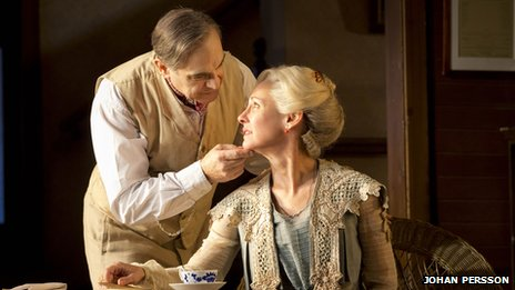 David Suchet and Laurie Metcalf in Long Day&#039;s Journey into Night (photo: Johan Persson)