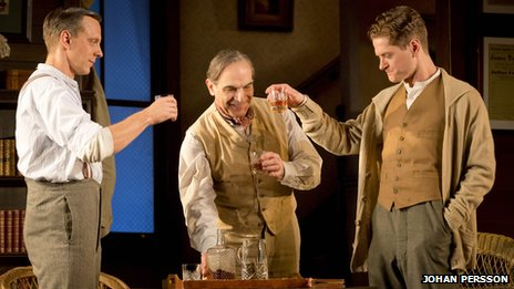 Trevor White, David Suchet and Kyle Soller in Long Day's Journey into Night