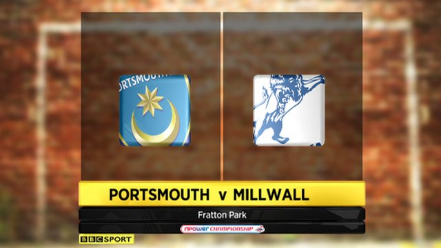 Portsmouth 0-1 Millwall