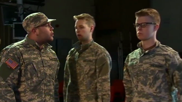 The Bradley Manning play is being performed at his old school in Haverfordwest, Pembrokeshire