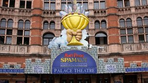 London's Palace Theatre
