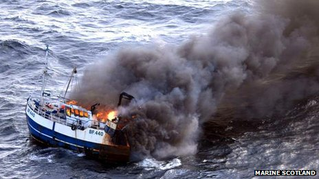 Fishing Boat Sunk Off South Africa In April 2013
