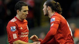Stewart Downing & Andy Carroll