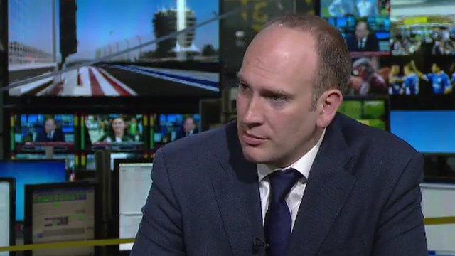 BBC Sport reporter Dan Roan