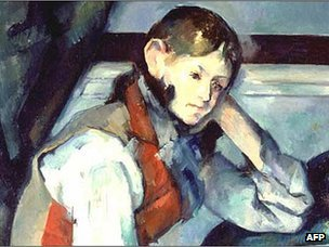 Cezanne's Boy in the Red Vest